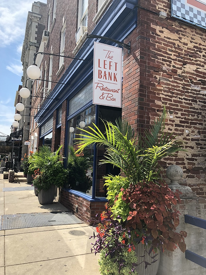 The Left Bank Restaurant & Bar Exterior